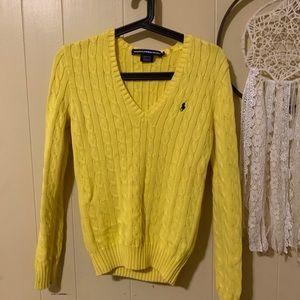 V-Neck Polo sweater